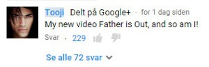 Tooji-out-youtube
