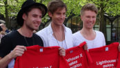 Lighthouse X møder de danske fans i Eurovision Village (foto: Riikka Jääskä)