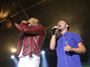 David Jay og Bryan Rice i duet til Copenhagen Pride Show | Foto: GEE