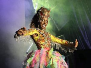 Lucciana optræder ved Copenhagen Pride's Drag Night 2016 | Foto: GEE